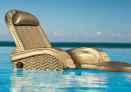 Luxury pool chaise floats  cool gifts  Cool Kaboodle