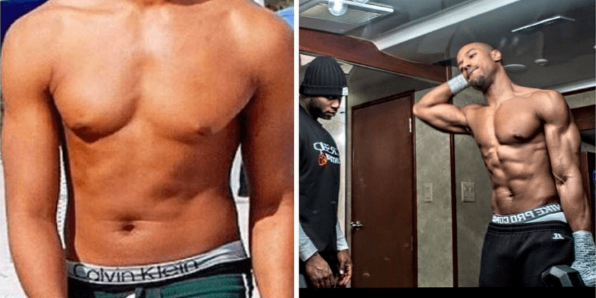 dobra sprzedaż nowy przyjeżdża moda designerska The Workout Michael B. Jordan Used To Get In shape For The ...