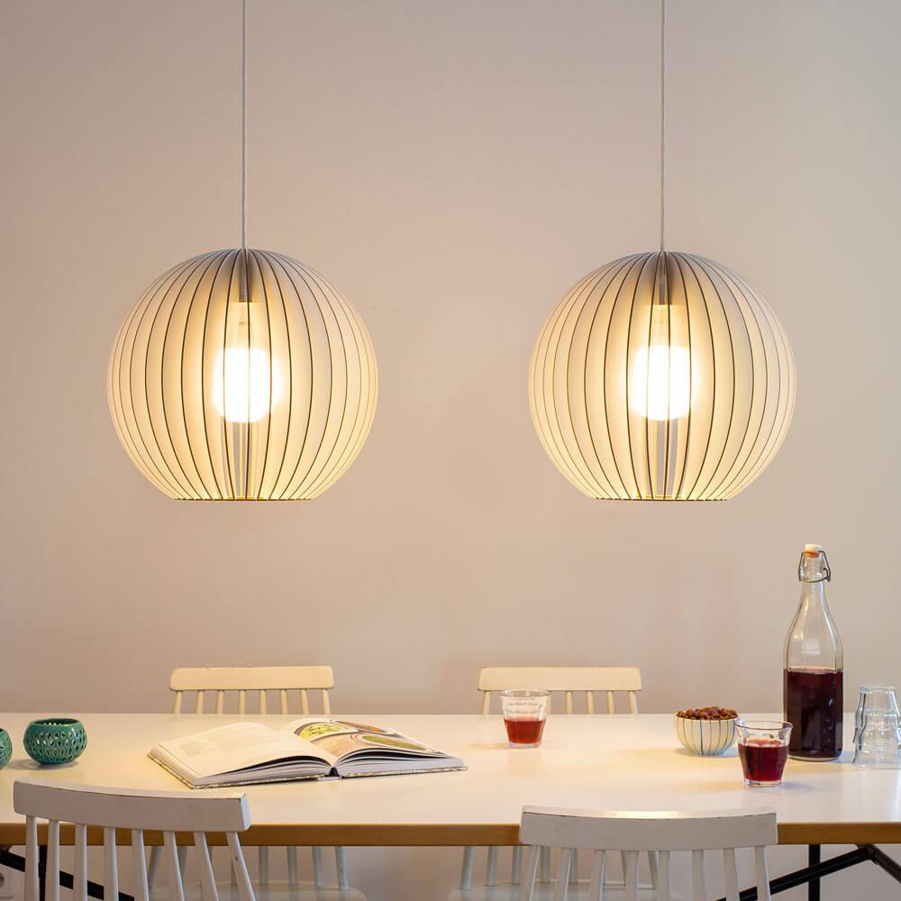 Coollivingnl  IUMI AIONL  Grote ronde houten hanglamp