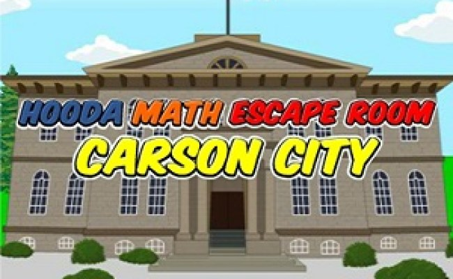 Hooda Math Escape Room Carson City Cool Math Games Online