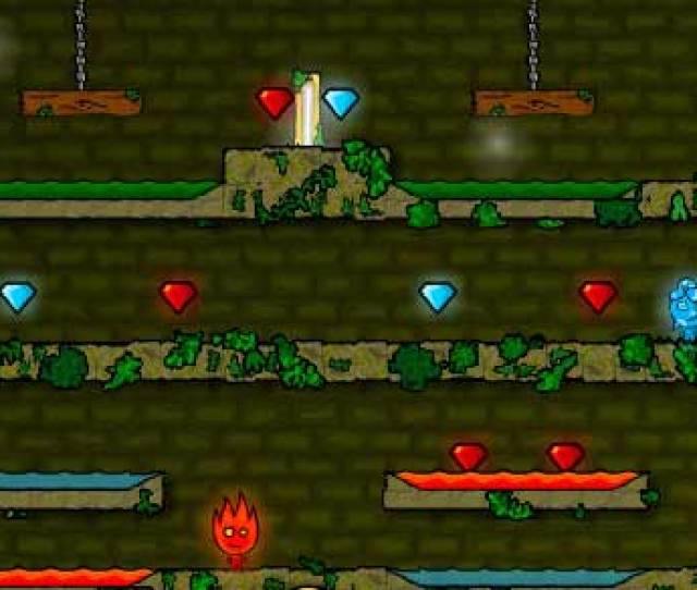 Fireboy And Water Girl In The Forest Temple Play It Now At Coolmath Games Com