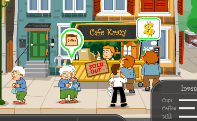 Coffee Shop Play It Now At Coolmathgames