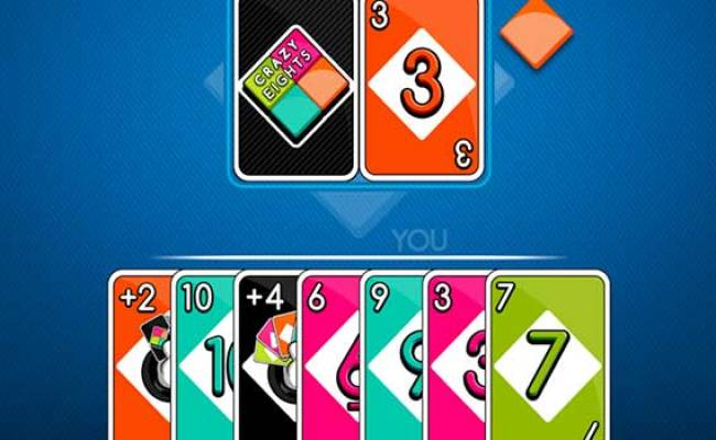 Crazy Eights Play It Now At Coolmathgames