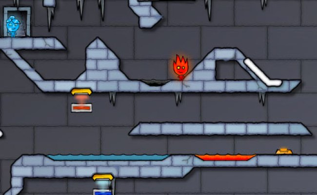 Fireboy And Water Girl 3 In The Ice Temple Play It Now