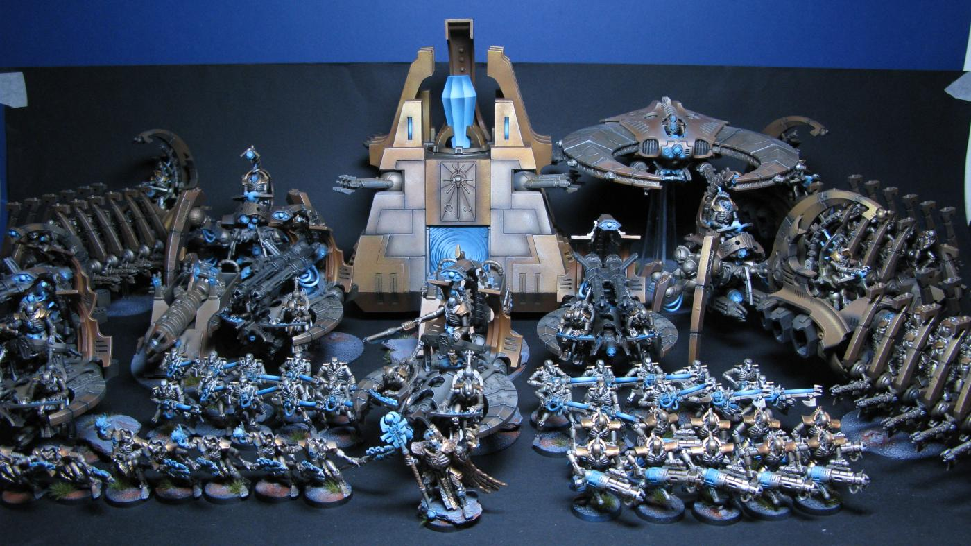 CoolMiniOrNot  Necron Army by Byronic