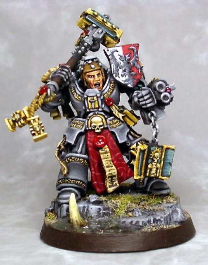 CoolMiniOrNot Grey Knight Brother Captain By Numbat