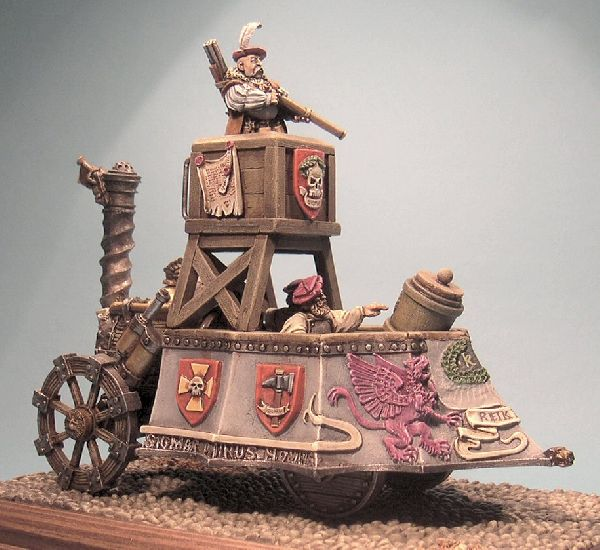 CoolMiniOrNot Empire Steam Tank By Multibarrelled