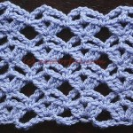 How to crochet the Anchored Stitch