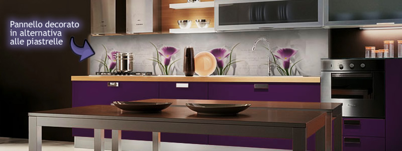 Forum Arredamentoit Alternativa alle piastrelle come rivestimento cucina