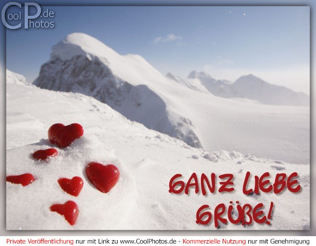 CoolPhotosde  Liebe Gre  Ganz liebe Gre