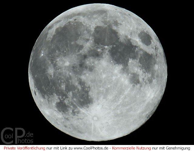 CoolPhotosde  Fotos  Himmel Wetter etc  Mond