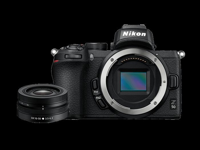 Nikon Z50 單鏡組 (NIKKOR Z DX 16-50MM F/3.5-6.3 VR)|無反光鏡相機|Nikon 單眼 數位相機