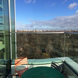 Ausblick Terasse im 10. Stock
