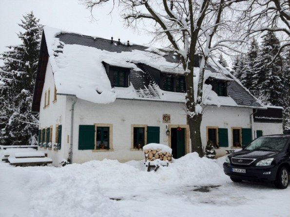 Kleines Vorwerk im Winter