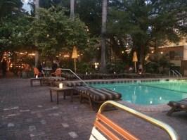 Pool-Bar Abends