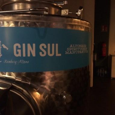 GIN SUL Label
