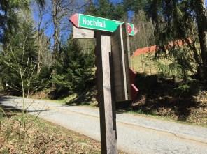Bodenmais – Hochfall, Wanderweg