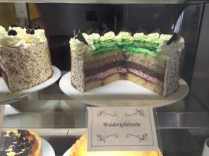 Lecker Kaffee und Kuchen im Restaurant des Waldwipfelweges
