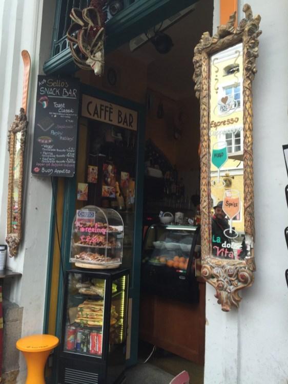 Passau – hübsches Café in der Innenstadt