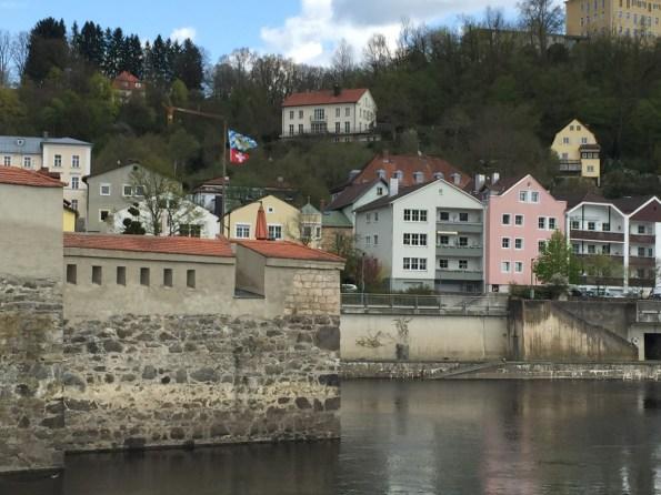 Passau - Zufluss der Ilz