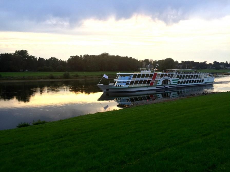 Elbe in Pillnitz