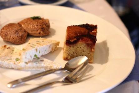Linzer Torte mt Lebkuchenparfait