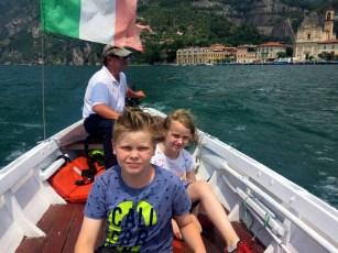 Bootsfahrt mit Angelo