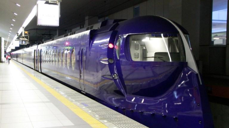 【鐵人28電車】關西空港南海電鐵特急 @麻吉小兔吃貨旅行團
