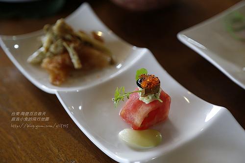 台東【陶甕百合春天】來自太平洋的天然美味‧天才主廚的原創無菜單料理(已搬至靜浦村) @麻吉小兔吃貨旅行團