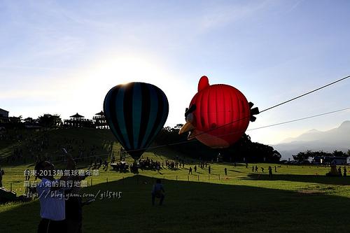 2013台東熱氣球嘉年華~憤怒鳥偷偷飛走之沒拍到的憤怒熱血旅程! @麻吉小兔吃貨旅行團
