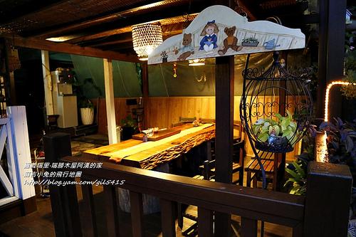 阿里山瑞里民宿:瑞勝度假木屋(阿漢的家) @麻吉小兔吃貨旅行團