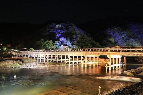 京都嵐山花灯路05
