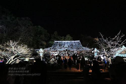 京都嵐山法輪寺花灯路09