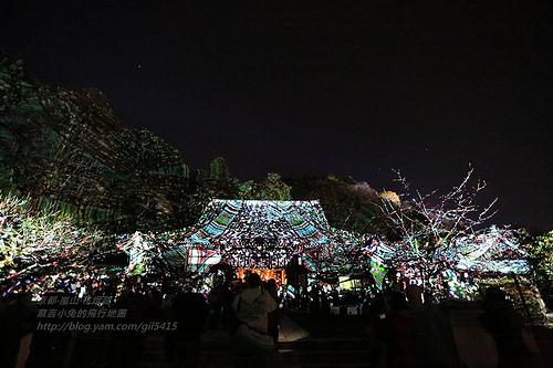 京都嵐山法輪寺花灯路03