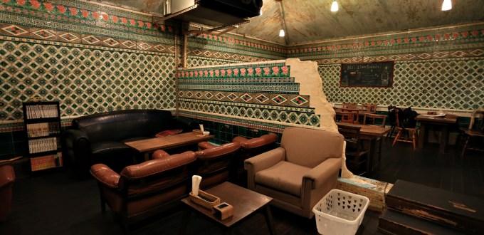 京都【さらさ西陣】神隱少女湯屋咖啡館 CAFE SARASA-NISHIJIN @麻吉小兔吃貨旅行團