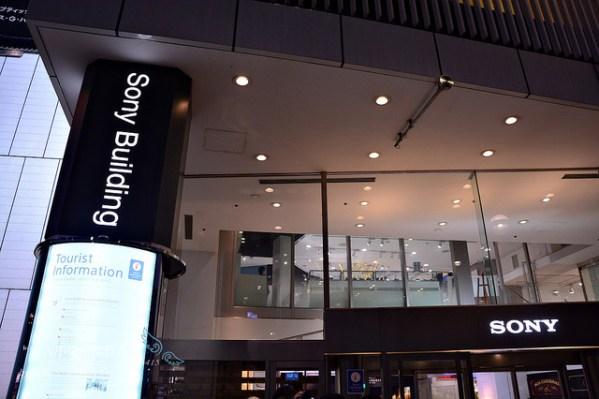 東京動漫之旅【少女與戰車x舞台巡禮APP】一:銀座SONY BUILDING @麻吉小兔吃貨旅行團