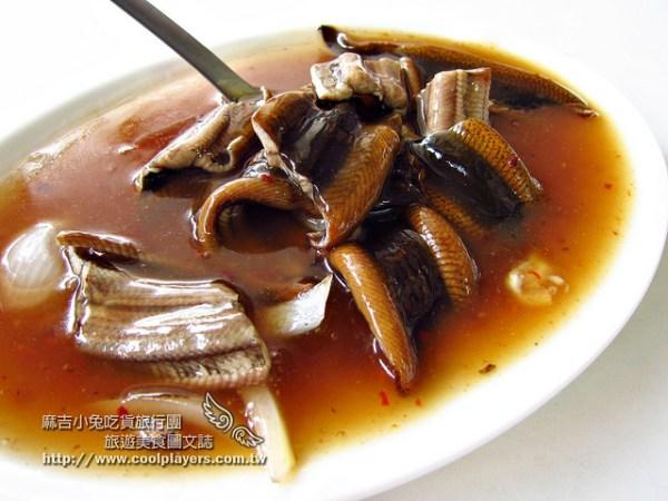 台南1980年老店~小南【炒鱔魚專家-信義小吃店】在地人吃這家~超鮮野生鱔魚意麵