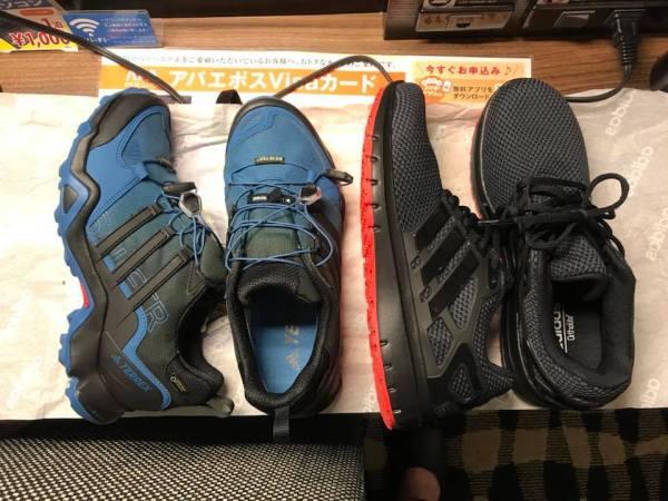 輕井澤王子購物廣場 Adidas Outlet【Adidas Terrex GTX 戶外登山防水系列】 @麻吉小兔吃貨旅行團