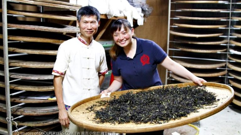 製茶方知茶甘苦~珍貴難忘【老吉子茶場】製茶體驗 @麻吉小兔吃貨旅行團