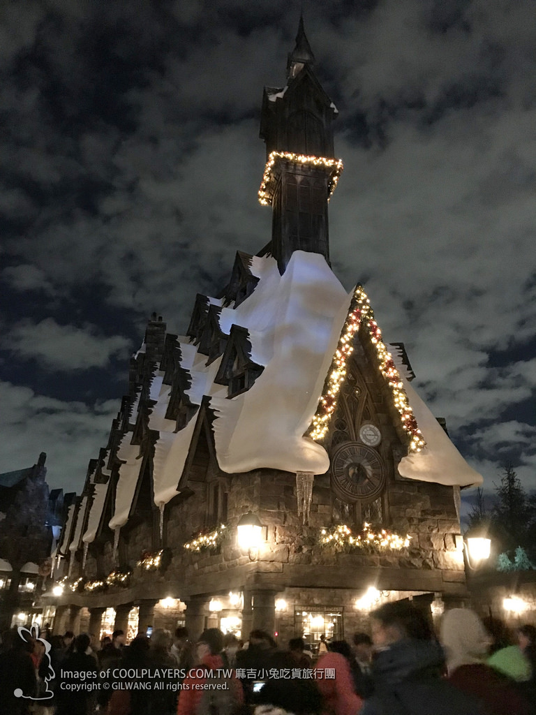 大阪環球影城冬季【哈利波特霍格華茲城堡冬季魔法之夜光雕秀 / 天使的奇蹟III光雕歌舞秀】 @麻吉小兔吃貨旅行團