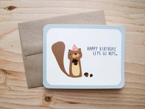 Happy Birthday Card Puns