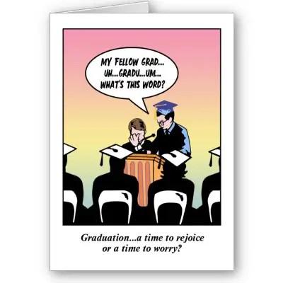 graduation puns
