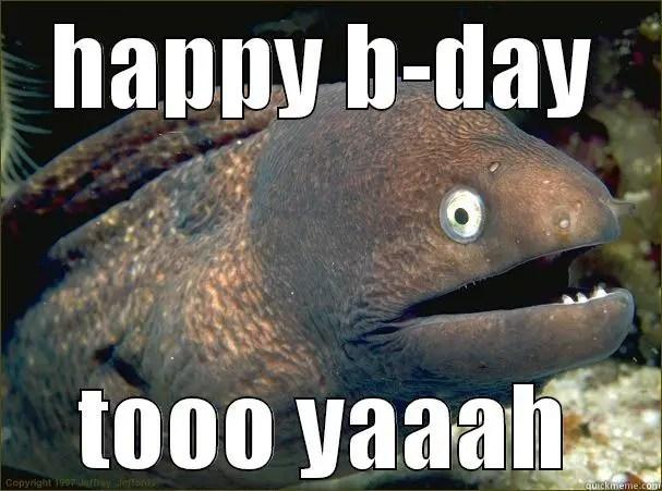 Birthday Fish Puns