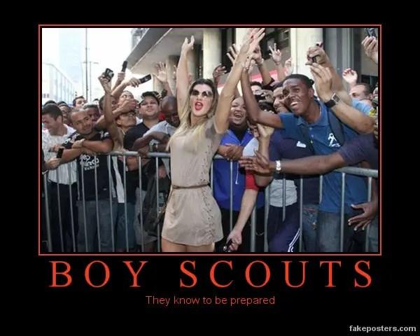Boy Scout Puns