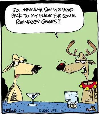 Christmas Reindeer Puns