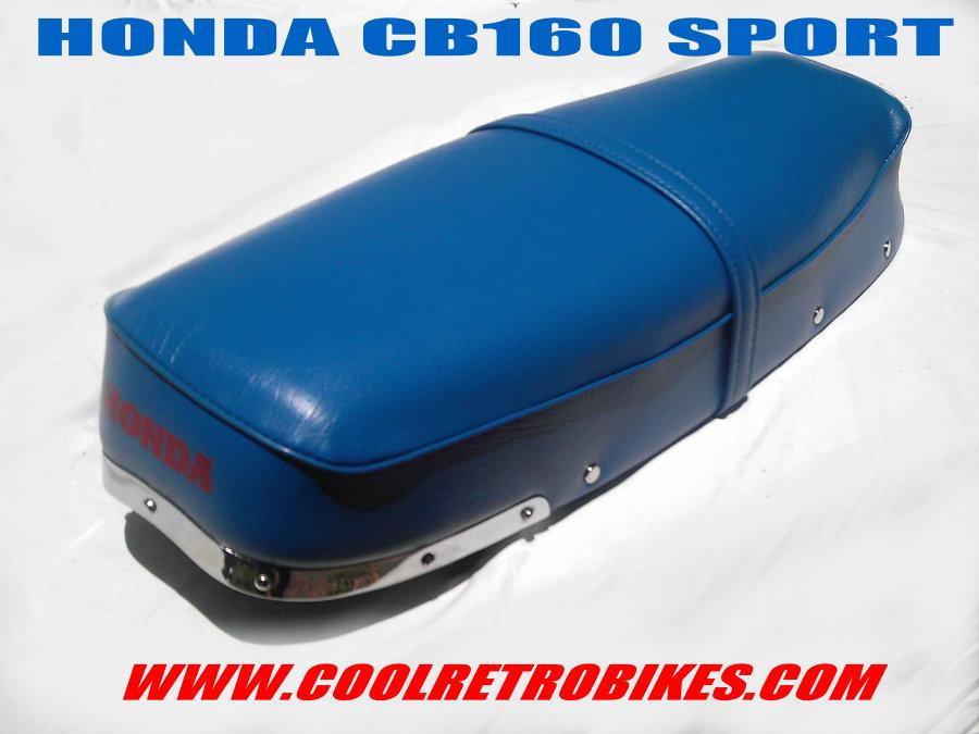 Honda Cb160 Sport Cb 160 Oem Seat Restored Correct Honda