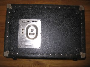 BOSE 800 PA PA SPEAKER IN ROAD CASE  BOSE ACTIVE