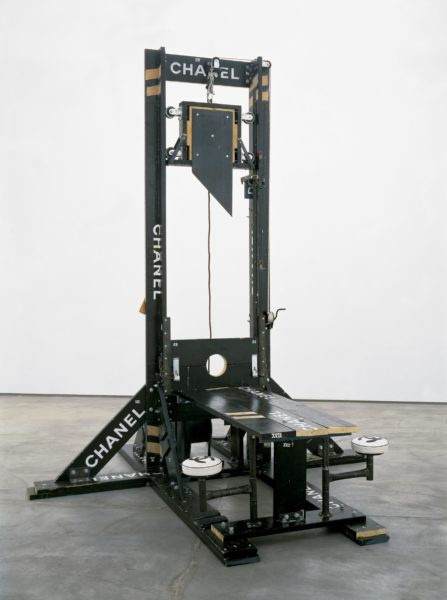 Chanel Guillotine (Breakfast Nook) 1998 mixed media