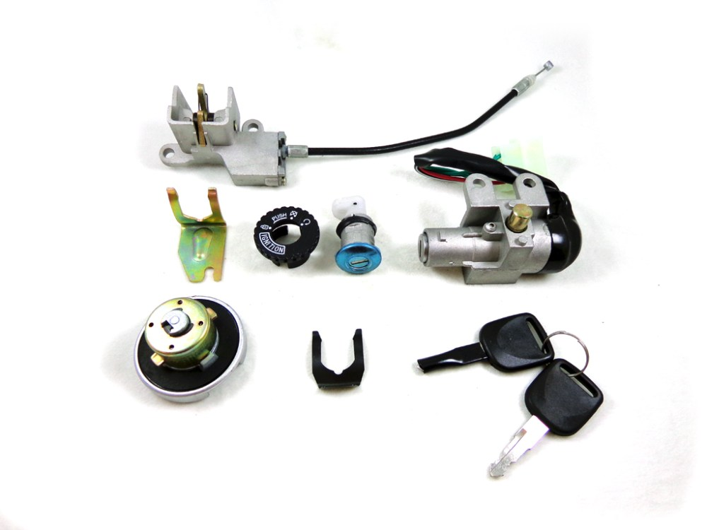 medium resolution of 5 wire key ignition switch set scooter moped 49 50 cc 110 150 250cc chinese lock