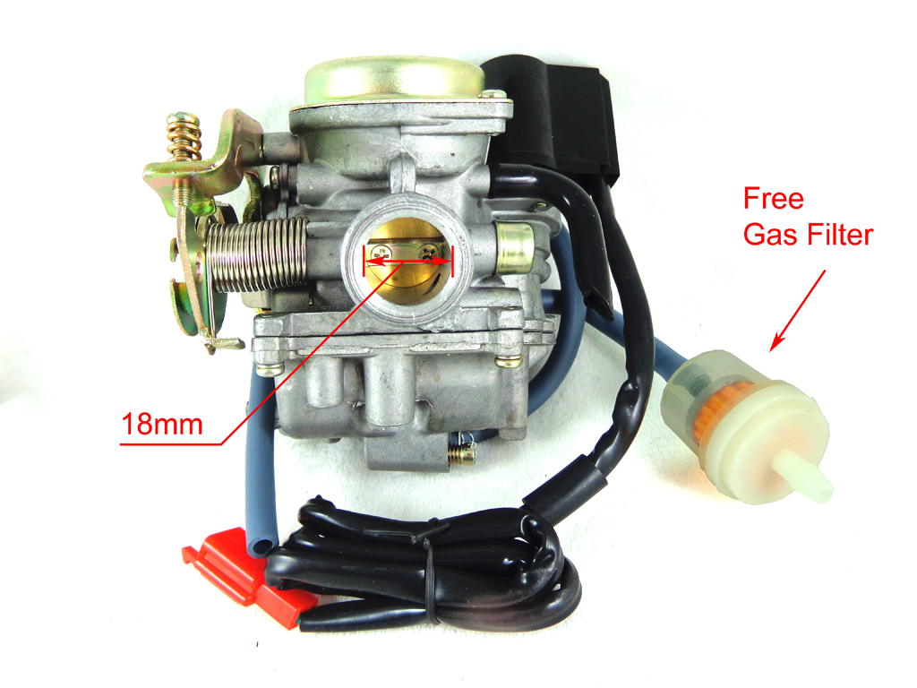 hight resolution of gy6 50cc carburetor